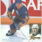 Buffalo Sabres Alexander Mogilny On The Attack 1994 Pinup Photo 8x10
