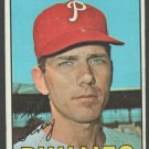 Philadelphia Phillies Phil Linz 1967 Topps Baseball card #14 vg