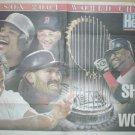 Boston Red Sox Shock the World 2004 Poster David Ortiz Curt Schilling Johnny Damon Pedro Martinez
