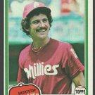 Philadelphia Phillies Larry Bowa 1981 Topps Baseball Card 120 nr mt