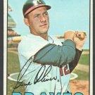 Atlanta Braves Gene Oliver 1967 Topps Baseball Card #18 vg/ex