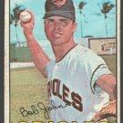 Baltimore Orioles Bob Johnson 1967 Topps Baseball Card #38 good