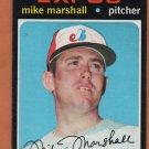 MONTREAL EXPOS MIKE MARSHALL 1971 TOPPS SHORT PRINT # 713 G/VG