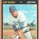 KANSAS CITY ROYALS BILL BUTLER 1971 TOPPS # 681 good