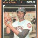 HOUSTON ASTROS DON WILSON 1971 TOPPS # 484 EX/EM