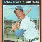 CHICAGO WHITE SOX BOBBY KNOOP 1971 TOPPS # 506 EX