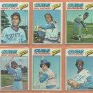 1977 Topps Chicago Cubs Lot 19 diff Rick Reuschel Randy Hundley Manny Trillo Bill Bonham
