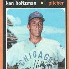 CHICAGO CUBS KEN HOLTZMAN 1971 TOPPS # 410 EM/NM
