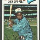Atlanta Braves Jim Wynn 1977 Topps Baseball Card 165 vg+