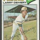 Pittsburgh Pirates Larry Demery 1977 Topps Baseball Card 607 vg