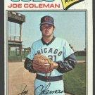 Chicago Cubs Joe Coleman 1977 Topps Baseball Card # 219 vg/ex
