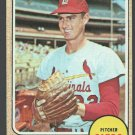St Louis Cardinals Steve Carlton 1968 Topps Baseball Card 408 em+