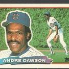 Chicago Cubs Andre Dawson 1988 Topps Big Baseball Card #153 nr mt