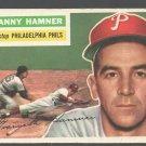 Philadelphia Phillies Granny Hamner 1956 Topps #197 Ex/Em