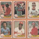 1981 Fleer St Louis Cardinals Team Set Ted Simmons Keith Hernandez Jim Kaat Leon Durham RC
