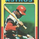 Houston Astros Cesar Cedeno 1975 Topps Baseball Card 590