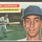 WASHINGTON NATS JOSE VALDIVIELSO 1956 TOPPS # 237 EX MT