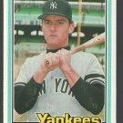New York Yankees Graig Nettles 1981 Donruss Baseball Card # 105 nr mt