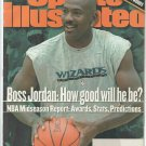2000 Sports Illustrated Washington Wizards Michael Jordan New York Rangers Baltimore Ravens Tiger W