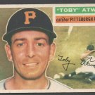 Pittsburgh Pirates Toby Atwell 1956 Topps  #232