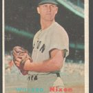 Boston Red Sox Willard Nixon 1957 Topps #189