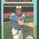 Atlanta Braves Darrell Evans 1975 Topps Baseball Card #475