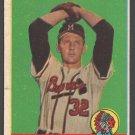 Milwaukee Braves Ernie Johnson 1958 Topps Baseball Card # 78