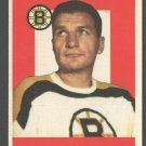 Boston Bruins Vic Stasiuk 1959 Topps # 14 nr mt