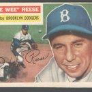 Brooklyn Dodgers Pee Wee Reese 1956 Topps #260
