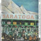 Saratoga Race Course 2019 Program w/ Monmouth Park and Del Mar