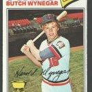 Minnesota Twins Butch Wynegar 1977 Topps Baseball Card 175