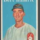 Baltimore Orioles Bert Hamric 1958 Topps # 336