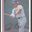 Los Angeles Dodgers Ron Cey 1982 Topps Baseball Card 410 nr mt