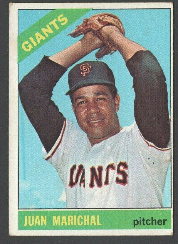 San Francisco Giants Juan Marichal 1966 Topps Baseball Card 420
