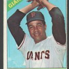 San Francisco Giants Juan Marichal 1966 Topps Baseball Card 420