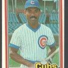 Chicago Cubs Ivan DeJesus 1981 Donruss Baseball Card # 483 nr mt