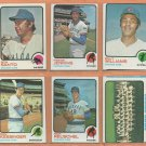 1973 Topps Chicago Cubs Team Lot 21 diff Fergie Jenkins Billy Williams Ron Santo Rick Reuschel RC
