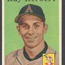 Kansas City Athletics Ray Herbert 1958 Topps # 379