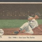 1959 FLEER TED WILLIAMS # 31 SOX LOSE THE SERIES BOSTON RED SOX