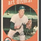 New York Yankees Art Ditmar 1959 Topps # 374