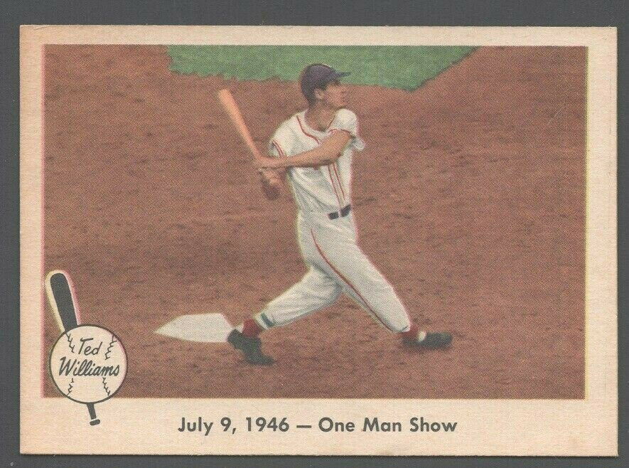 1959 Fleer Ted Williams #27 One Man Show Boston Red Sox