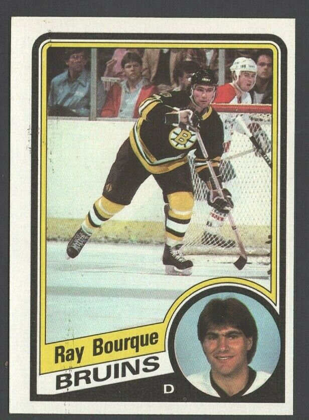 Boston Bruins Ray Bourque 1984 Topps # 1 nr mt