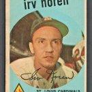 St Louis Cardinals Irv Noren 1959 Topps Baseball Card # 59