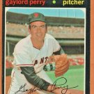 SAN FRANCISCO GIANTS GAYLORD PERRY 1971 TOPPS # 140