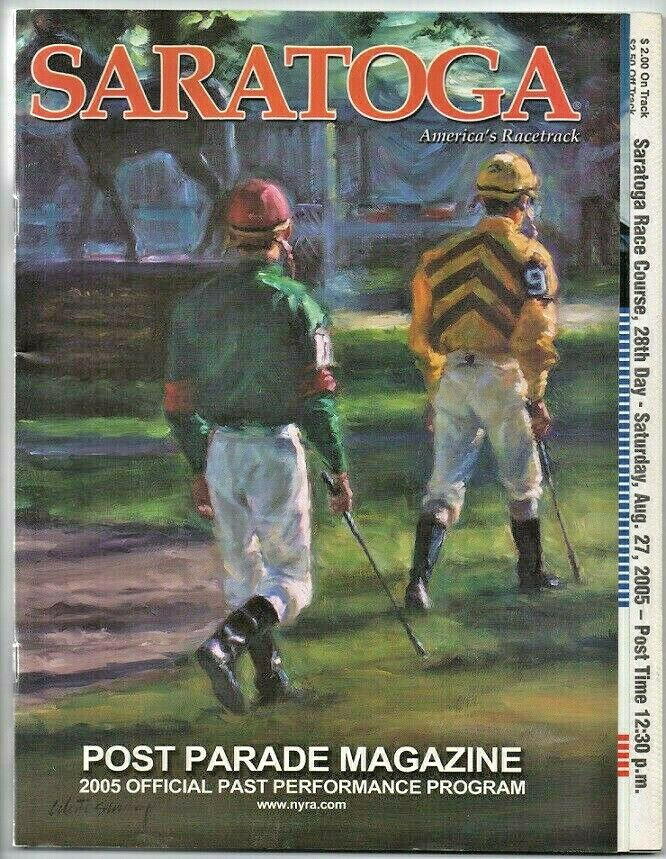Saratoga Race Course 2005 Travers Stakes Program