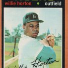 DETROIT TIGERS WILLIE HORTON 1971 TOPPS # 120 EM+/NM