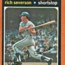 KANSAS CITY ROYALS RICH SEVERSON 1971 TOPPS # 103