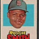 BOSTON RED SOX REGGIE SMITH 1967 TOPPS STICKER TEST ISSUE  # 18 VG