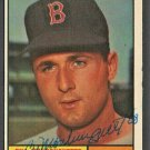 Boston Red Sox Bill Monbouquette 1936-2015 Signed Autograph 1961 Topps # 562