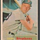 BOSTON RED SOX GENE STEPHENS 1957 TOPPS # 217